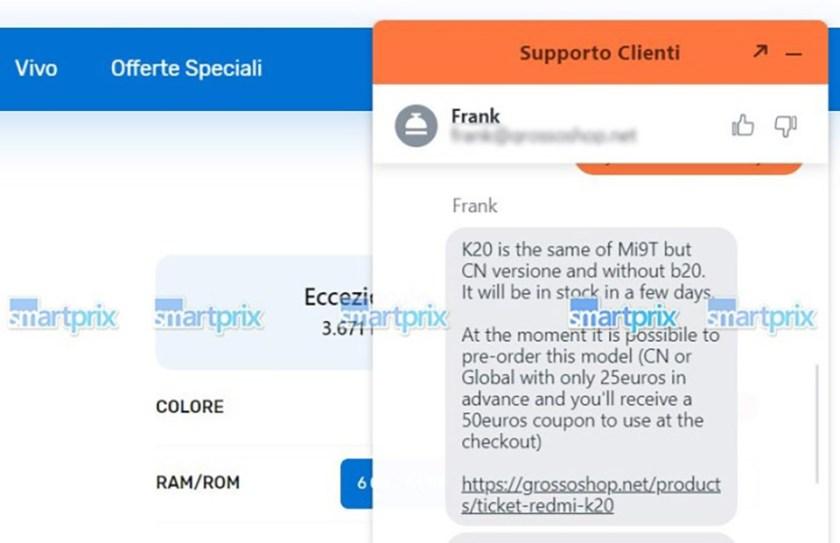 Xiaomi Mi 9T được liệt kê trên trang web bán hàng (ảnh 2)