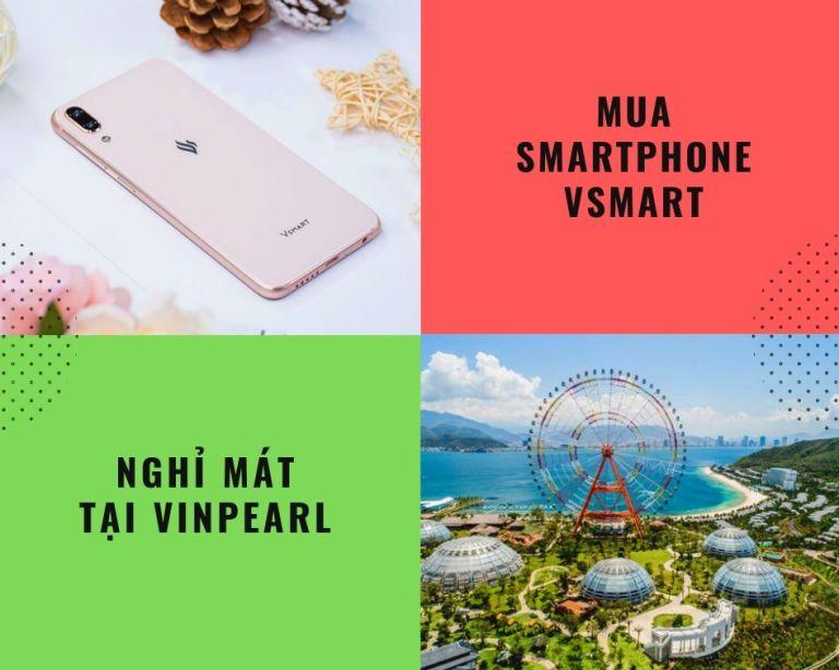 FPT Shop tặng 30 voucher nghỉ mát Vinpearl khi mua smartphone Vsmart