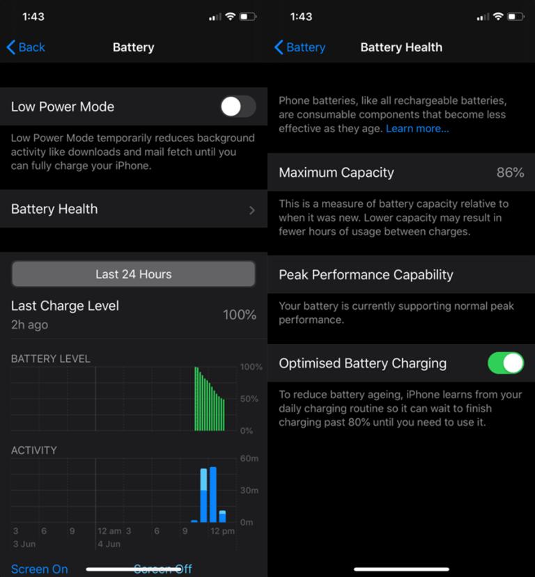 Đây là tính năng trên iOS 13 giúp pin iPhone tăng tuổi thọ  iOS 13 Optimized Battery Charging