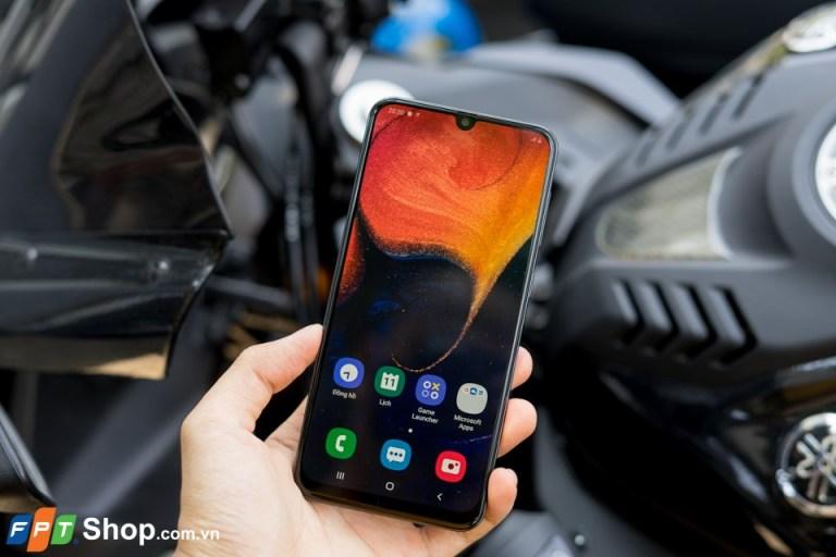Màn hình hiển thị Galaxy A50