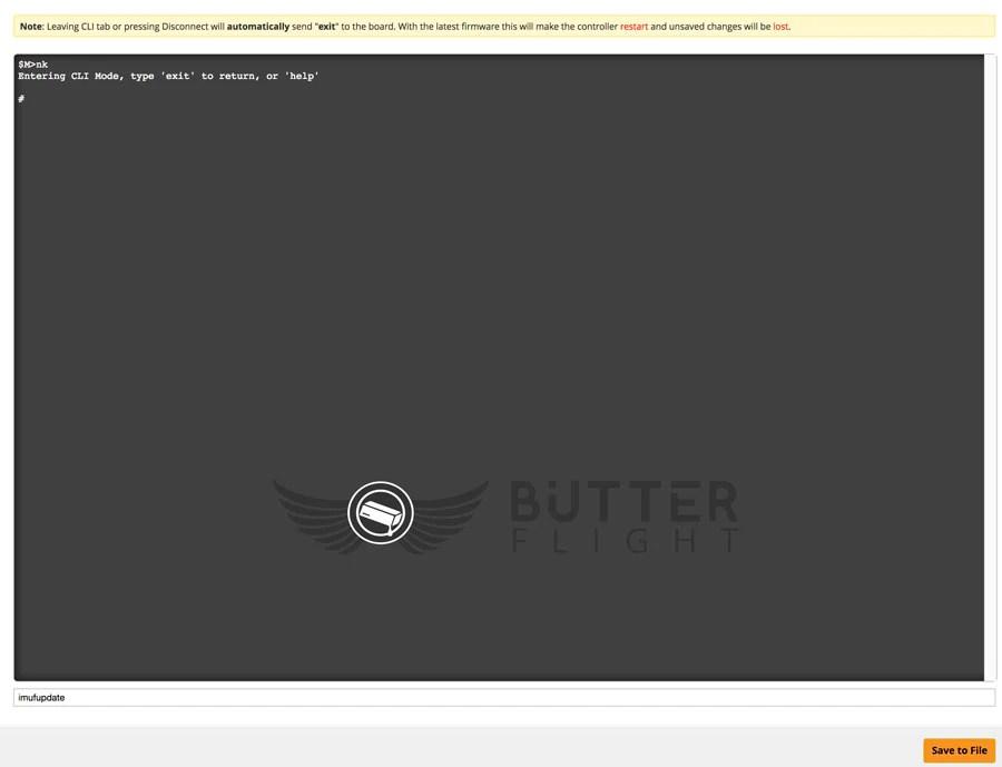6s Quadcopter build butterflight
