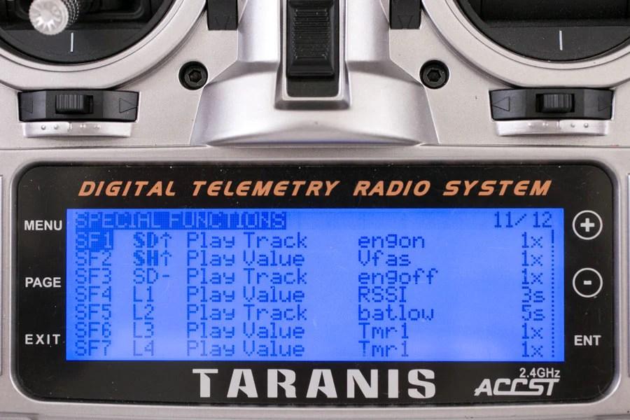 taranis telemetry