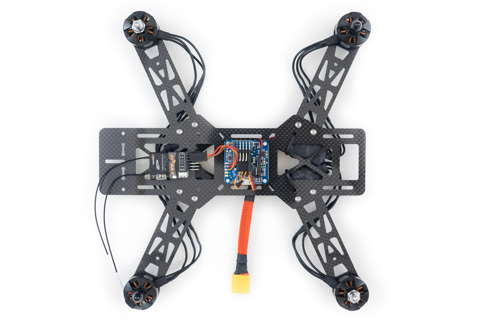 emax250 quadcopter build