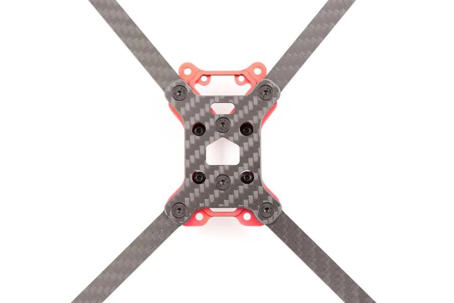 hybrid fpv race frame build
