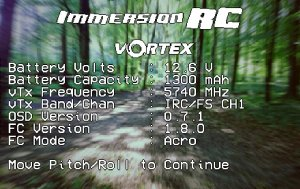 immersionrc vortex osd