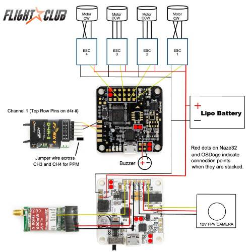 small resolution of learn how to build a lumenier qav250 quadcopter acro naze32 wiring diagram acro naze32 wiring