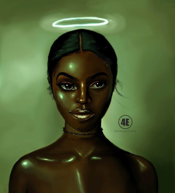 Digital Artist Celebrates Black Women In Gorgeous Illustrations Afropunk