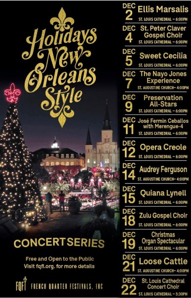 Image result for holiday concert at st louis cathedral new orleans schedule