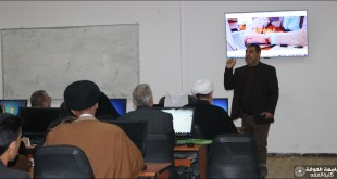 College of Jurisprudence holds a workshop on the mechanism of using the E-learning (moodle)