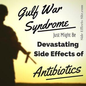 fluoroquinolone antibiotics tie into gulf war illness
