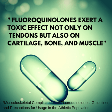 Fluoroquinolone toxic effects on muscle, bone, tendon, and cartilage