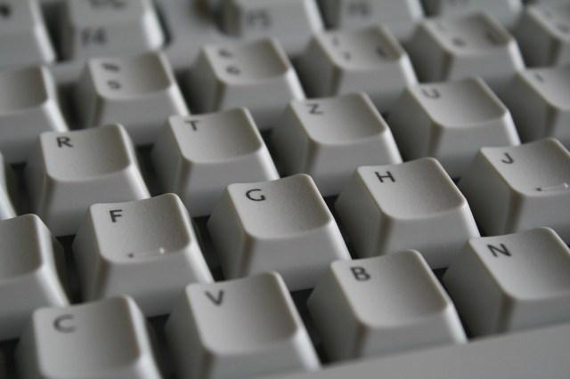 Photo représentant un clavier d'ordinateur