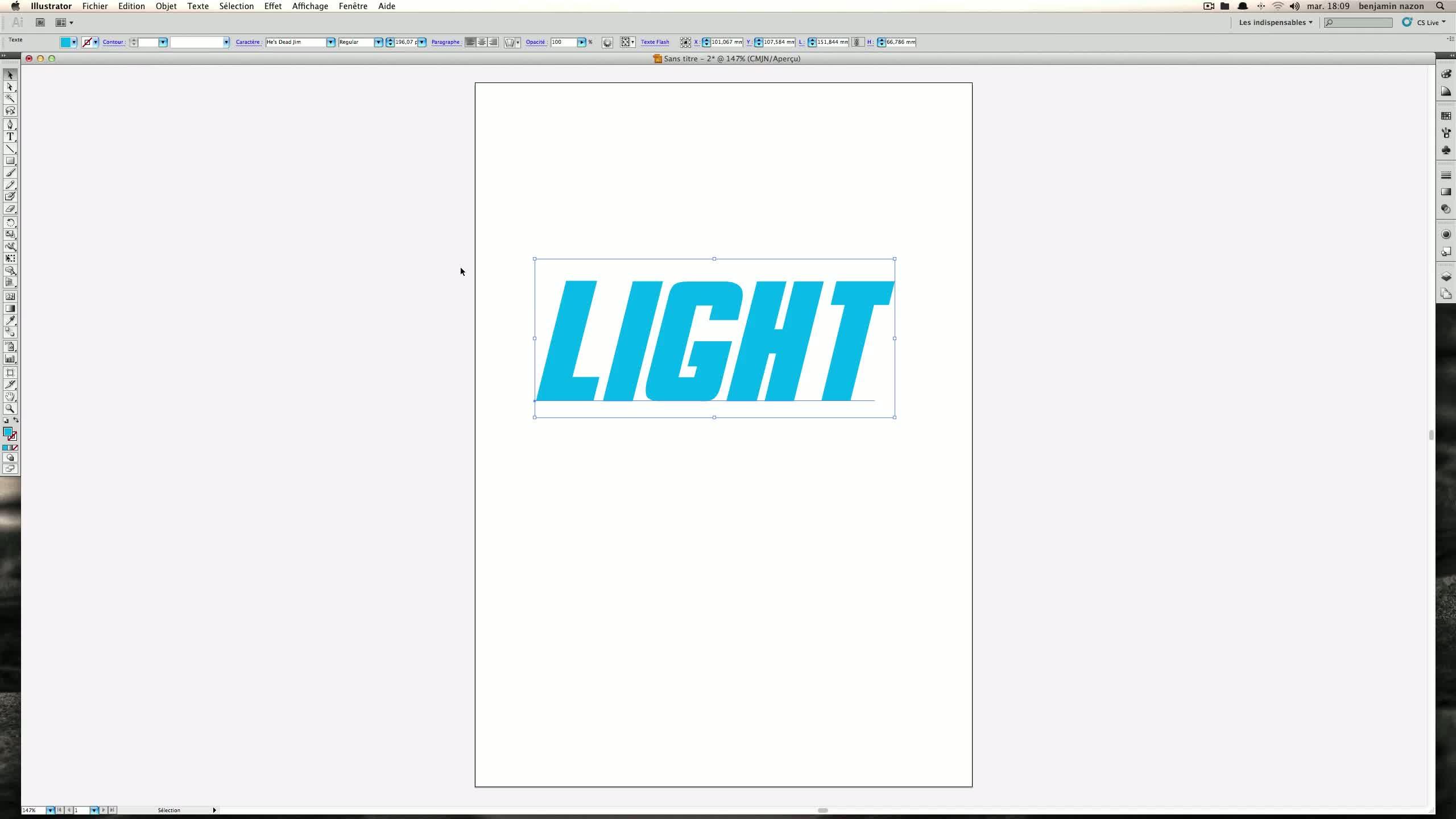 TUTO Créer un texte 3D lumineux et électrique avec