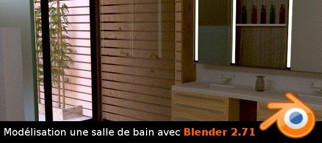 Tuto Blender Modelisation D Une Salle De Bain 2 7 Sur Tuto Com