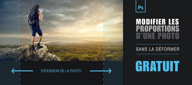 [Tutoriel Photoshop] modifier les proportions de vos photos sans la déformer