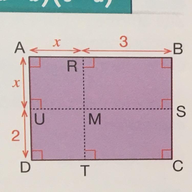 aire du rectangle abcd