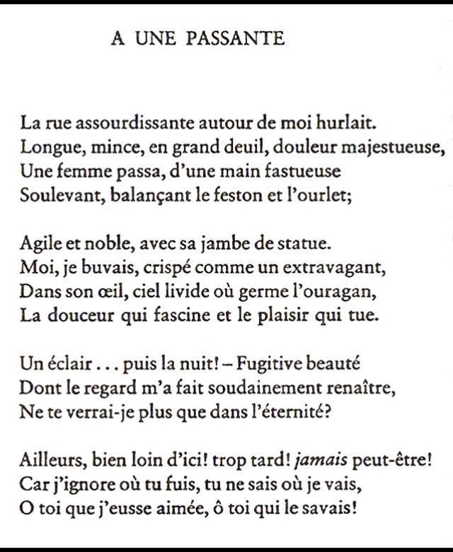 Poeme Sur La Beauté D'une Femme : poeme, beauté, d'une, femme, Bonjour, Poème, Passante, Charles, Baudelaire, Qu'est-ce, Cette, Jeune, Femme, Nosdevoirs.fr