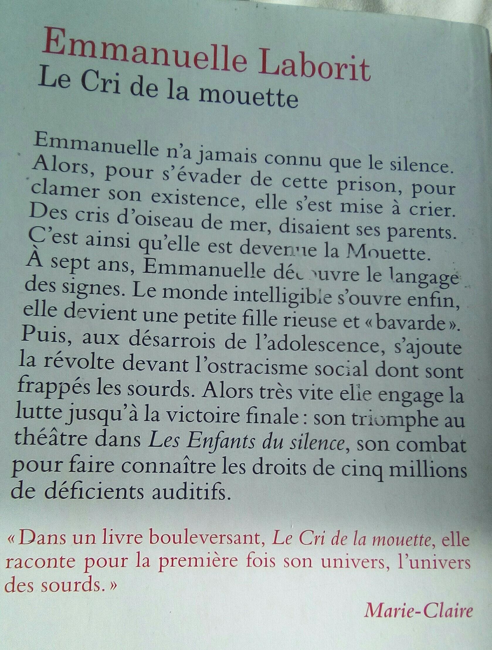 Le Cri De La Mouette Resume : mouette, resume, Bonjour,, 3eme,j'ai, Lecture, Cursive, Faire, Livre, MOUETTE, Nosdevoirs.fr