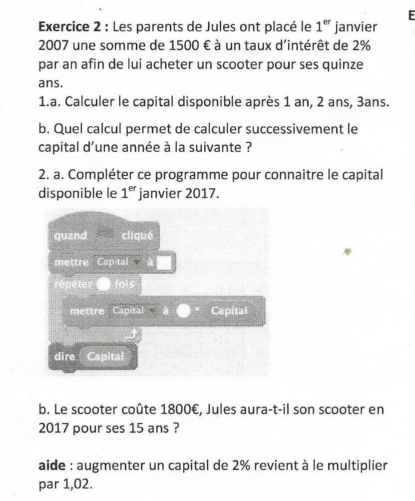Je Vous Ai Mis En Copie : copie, Bonjour, Tous,, 3ème, Difficultés, Exercice, Nosdevoirs.fr