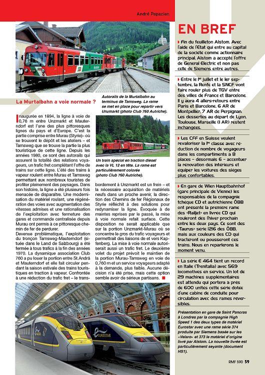 Des Trains Pas Comme Les Autres Suisse : trains, comme, autres, suisse, N°590, Septembre, Modélisme, Autres, Loisirs, 1001mags, Magazines, GRATUITS