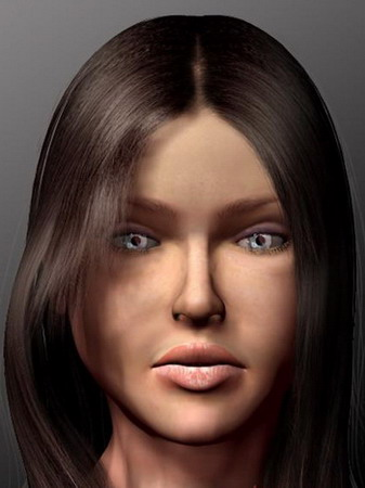 Modle 3D Dune Image Femme 3D Model DownloadFree 3D