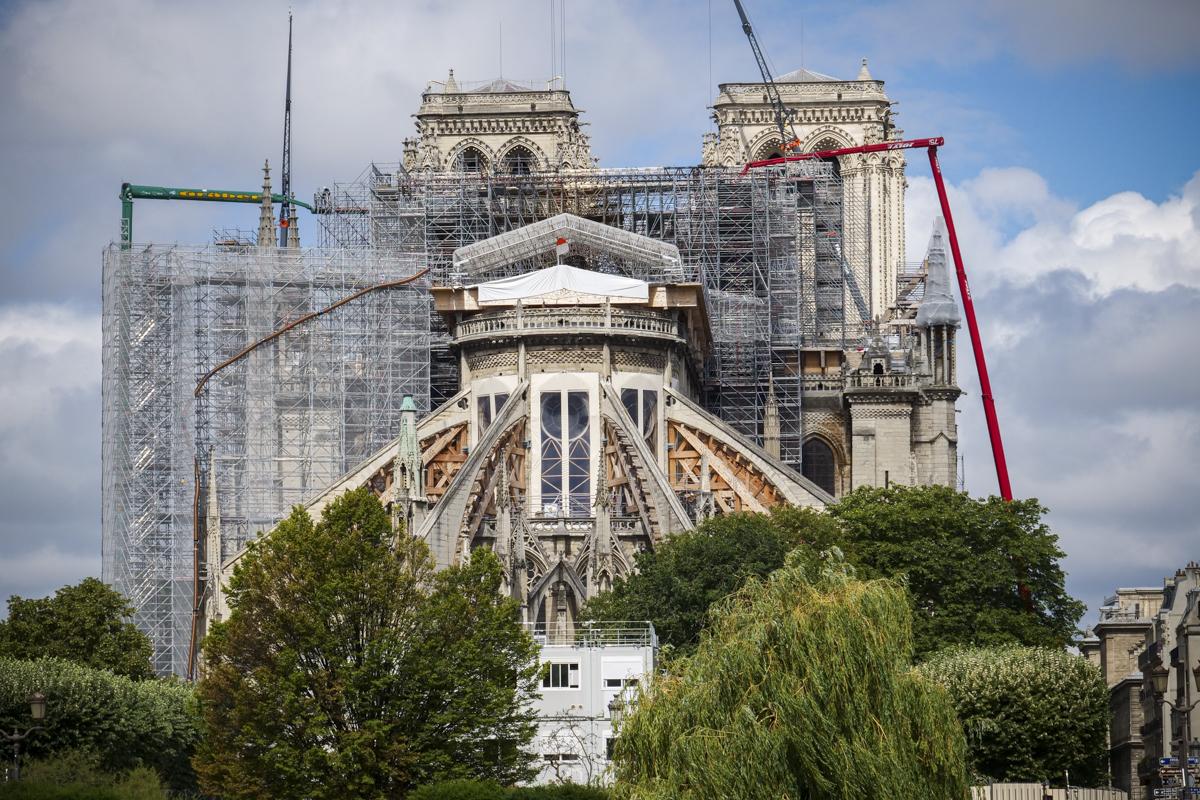 Un «large consensus» pour reconstruire la flèche de Notre-Dame à l'identique