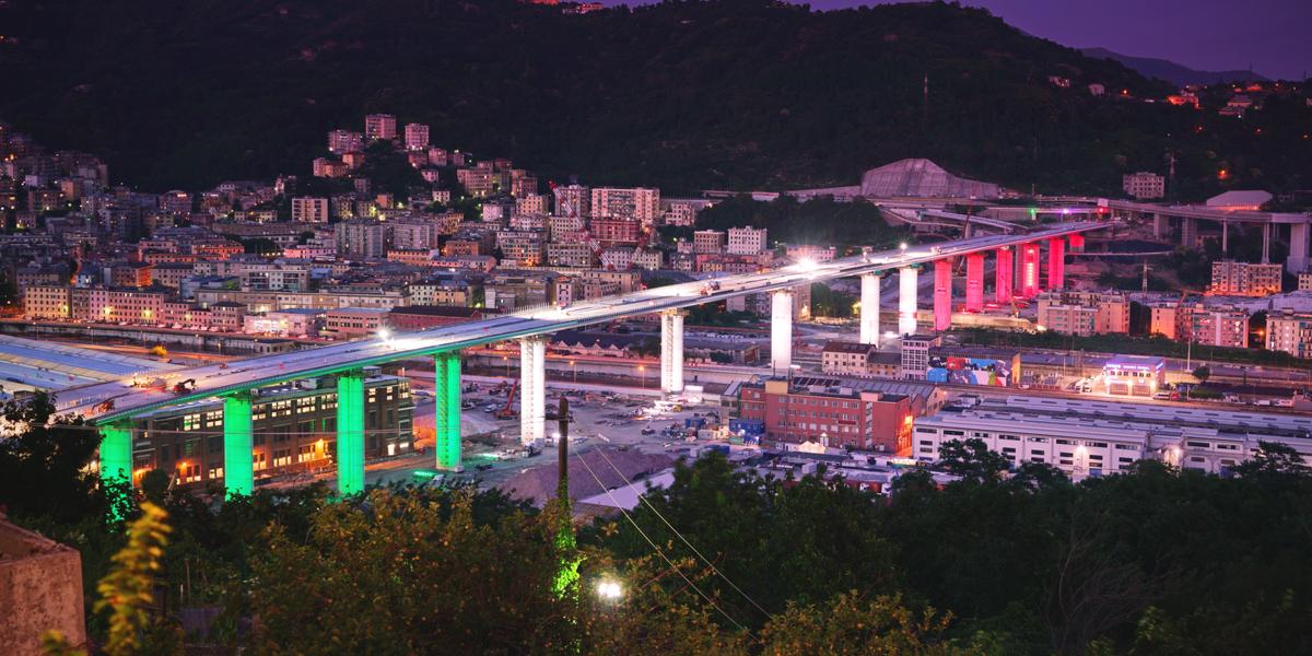 Deux ans après le drame, Gênes inaugure le nouveau pont de San Giorgio