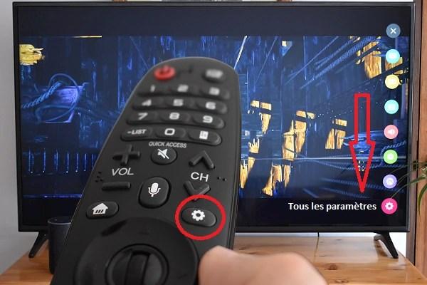 smart tv lg a ses reglages d usine