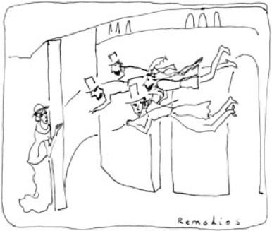 Remedios-Varo-Bankers-in-action-banquiers