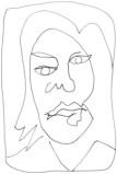 Gil Woo Lee portrait de femme