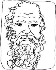 Socrate-tête-head-fil