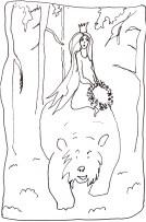 TheodorKittelsen_Kvitebjorn_Princess_on_bear