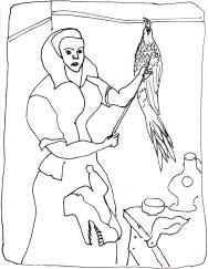 Woman_w:dead_pheasant