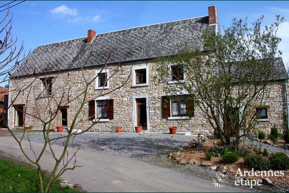 Jolie maison de vacances pour 12 personnes  Namur avec jardin cltur
