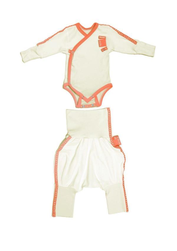 Baby clothing gift set orange