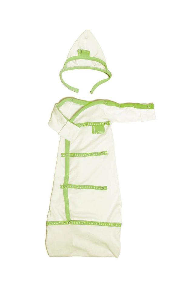 green sleep-pod for premature baby