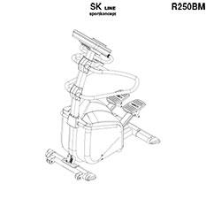 SK2500 stepper professionnel