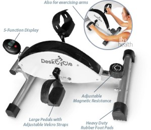 Pour bras Deskcycle mini vélo
