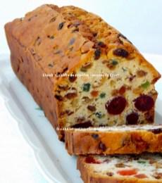 Recette du cake aux fruits