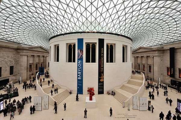 Quand Ouvert Le British Museum Londres