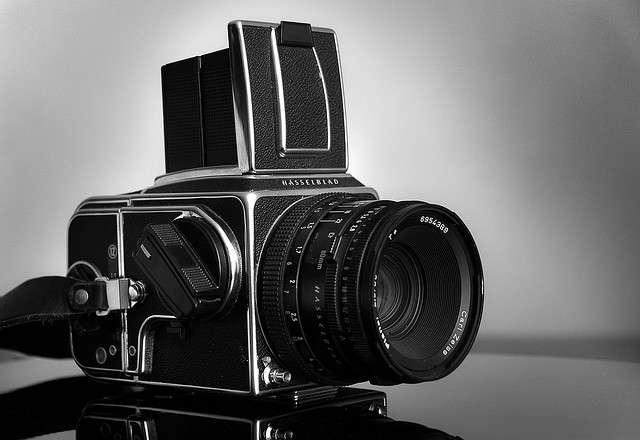 Hasselblad, l'appareil photo qui est allé sur la Lune ! © Alain Bachellier, Flickr, CC by-nc-sa 2.0