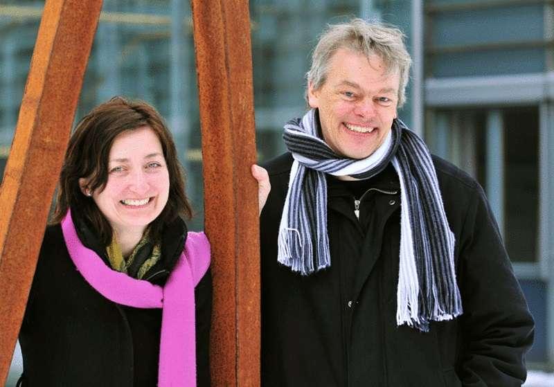 Edvard et May-Britt Moser, un couple de chercheurs norvégiens, partagent le prix Nobel de médecine 2014 avec John O'Keefe pour la découverte du « GPS du cerveau ». © Kavli Institute at the NTNU, Wikimedia Commons, CC by-sa 3.0