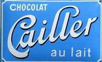 Cailer, plus ancienne marque de chocolat suisse, et Van Houten, célèbre fabricant hollandais. © DR