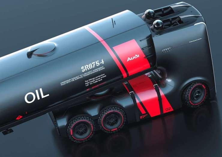 La version B du Truck for Audi est encore plus radicale. © Artem Smirnov et Vladimir Panchenko