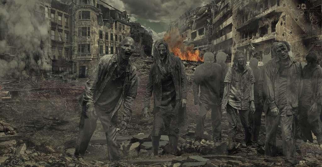 Le parallèle entre une invasion de zombies et une épidémie mortelle est régulièrement fait par des organismes très sérieux, tels The Lancet, un journal médical britannique, ou encore le Centre de contrôle et de prévention des maladies d'outre-Manche. Objectif : se préparer à la survenue de pandémie bien réelle. © Ahmadreza89, Pixabay, CC0 Public Domain