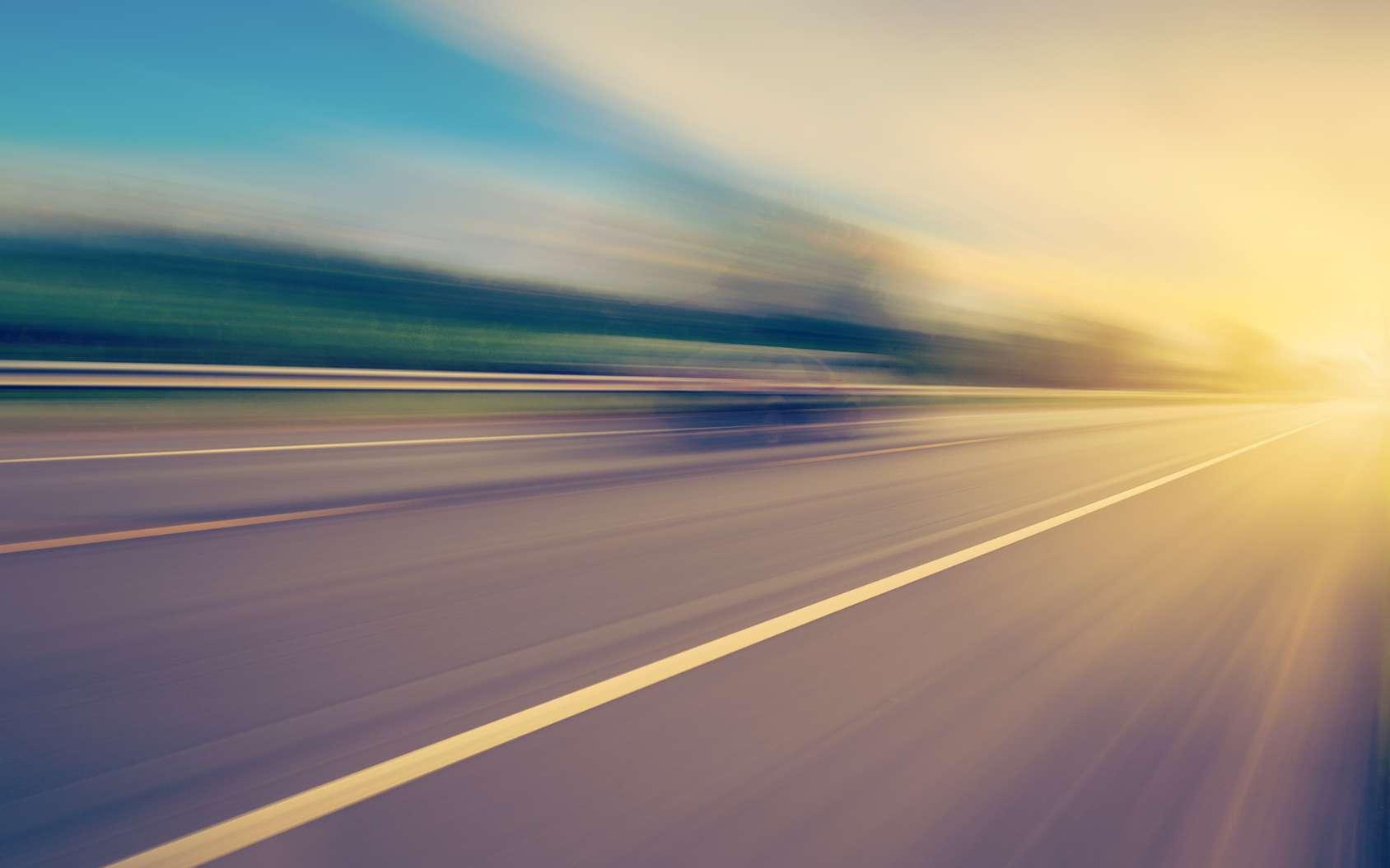 Un tonnant marquage lumineux test sur une route de Vende