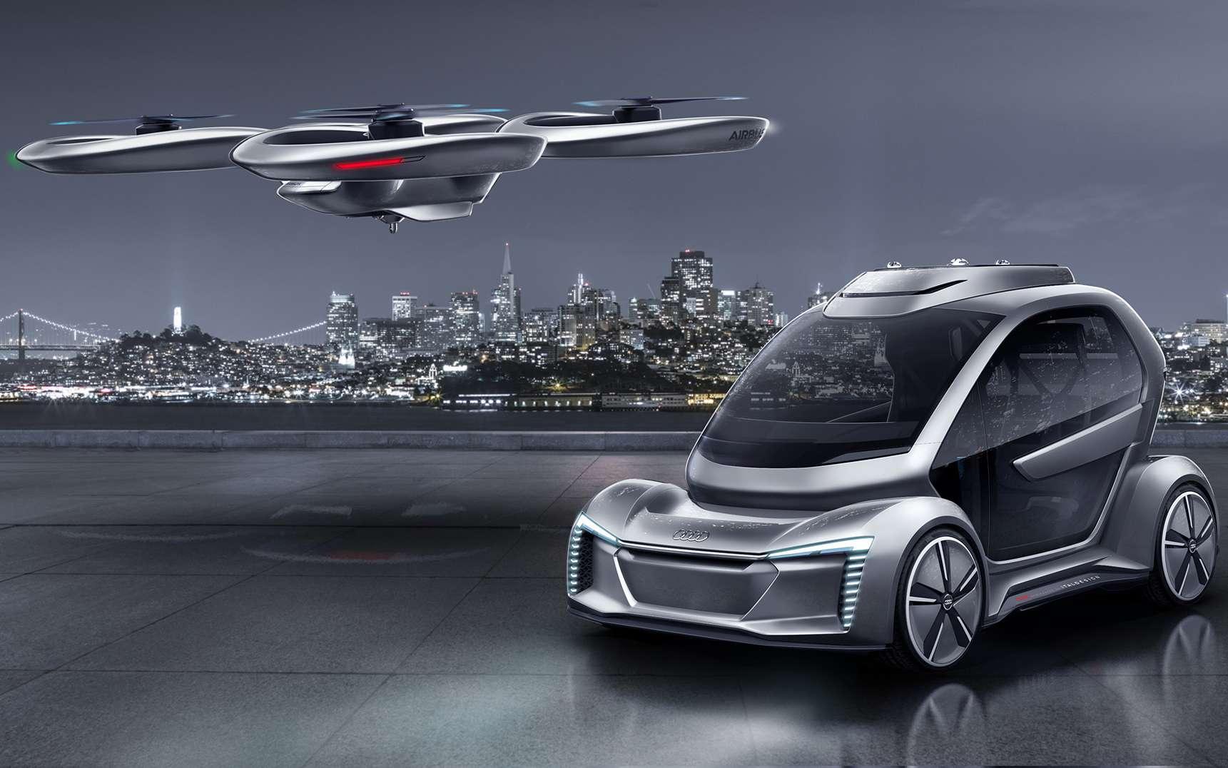 PopUp Next le dronenavette dAirbus et Audi se prcise