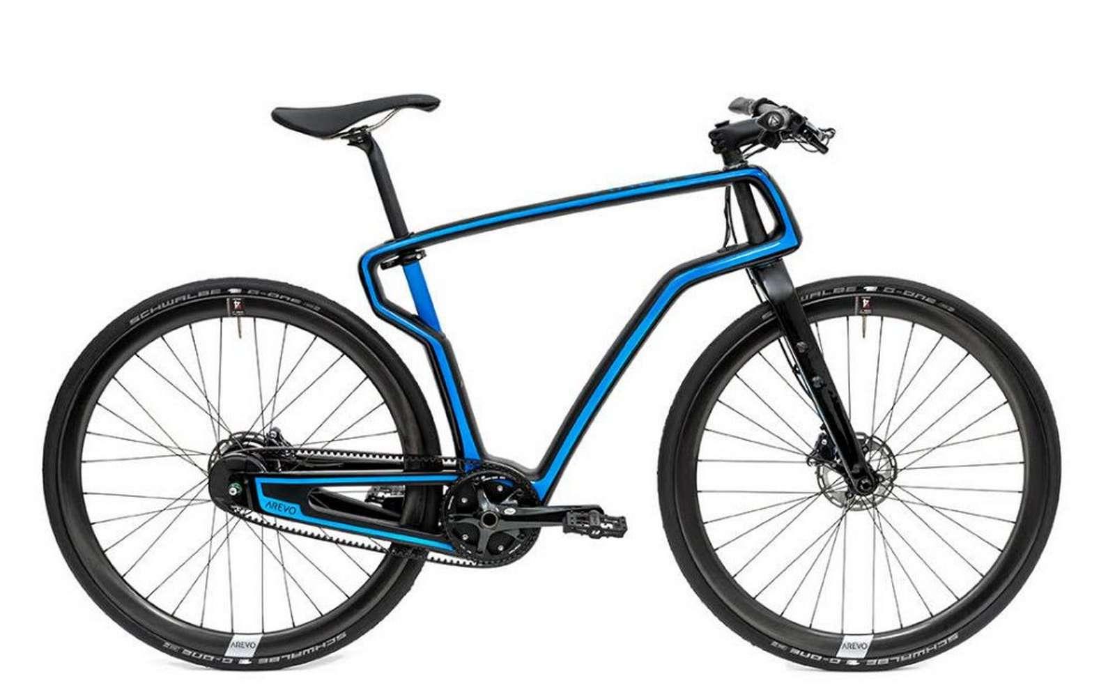 Le premier vélo en carbone imprimé en 3D