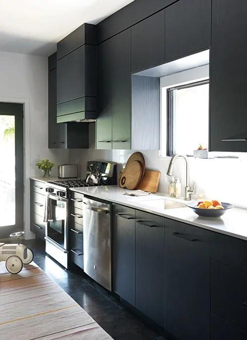 Cuisine Noir Et Argent - Décoration de maison idées de design d ...