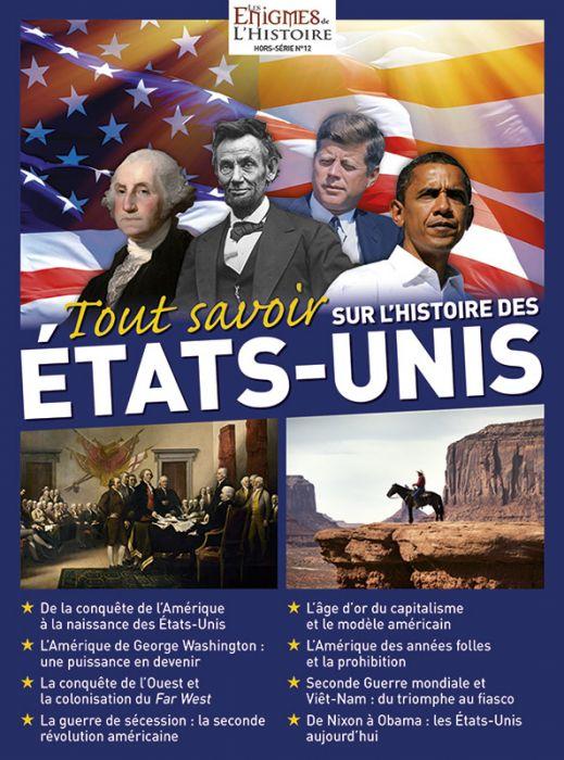 L Histoire Des Etats Unis : histoire, etats, Savoir, L'histoire, Etats-Unis, Enigmes, L'Histoire, Hors-série, N°12